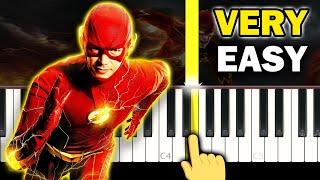 THE FLASH - Theme song - VERY EASY Piano tutorial screenshot 4