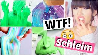 die HEFTIGSTEN SCHLEIM Videos 😱😳 eklig oder lustig? | ViktoriaSarina