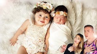 BABY ARYA'S NEWBORN PHOTOSHOOT!!!**ADORABLE**