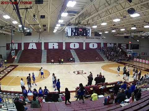 Elgin High School 45 (White) vs. Larkin High School 43 (Blue); January 11, 2018; Part 1