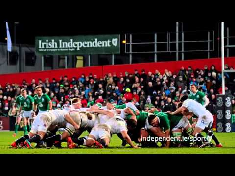 VIDEO: Irish Independent Park hosts Wolfhounds v Saxons