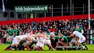 VIDEO: Irish Independent Park hosts Wolfhounds v Saxons