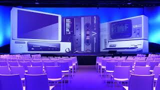 Mogelijkheden en impressie 4K projectiedecor NBC Congrescentrum