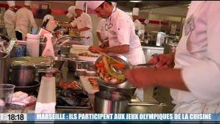 Marseille : ils participent aux jeux olypiques de la gastronomie