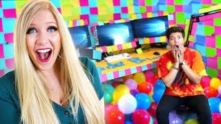 I Did This While PrestonPlayz Was Out of Town... - Prank