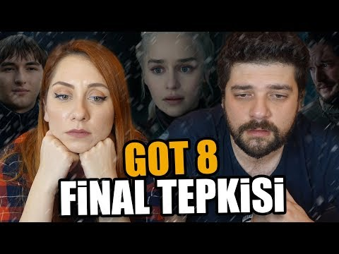 HAYIR YAA! Game of Thrones Finali 8.Sezon 6.Bölüm Tepki