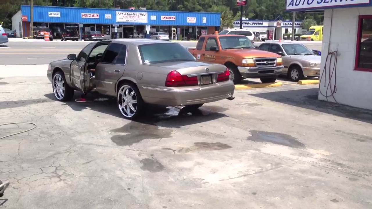 2003 mercury grand marquis custom youtube. Black Bedroom Furniture Sets. Home Design Ideas