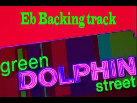 On Green Dolphin Street - Backing track in Eb