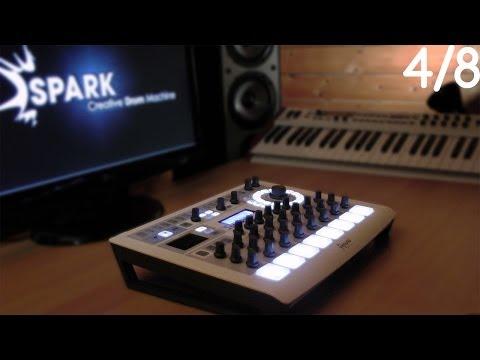 [4/8] - Arturia Spark TUTORIEL : Fenêtres Song - Studio - Mixer