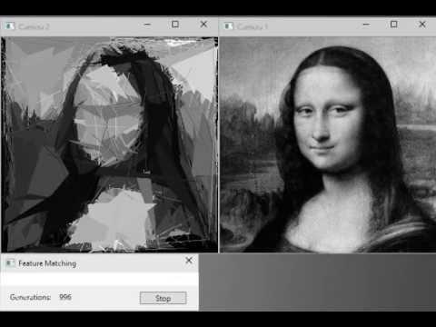 Image Evolution - Generating Image using Genetic Algorithm