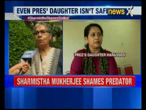 President's daughter Sharmistha Mukherjee shames stalker, takes a sceenshot of text and puts on FB