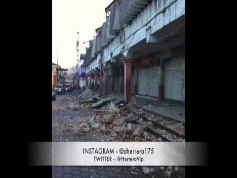 7/7/2014 - Earthquake jolts parts of Mexico and Central America