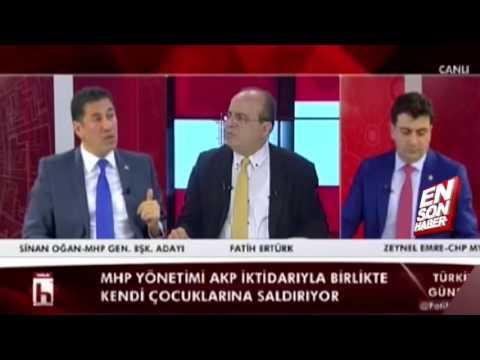 Sinan Oğan'dan Halk TV Yayınında Tehdit Gibi Sözler   Güncel Günlük Haberler