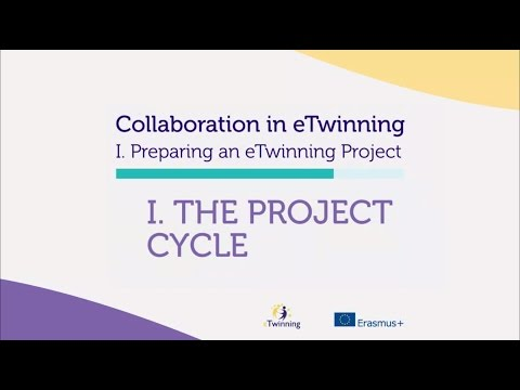 Life cycle of an eTwinning project
