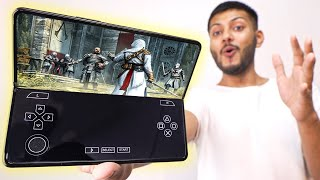 Gaming on the World's Fastest Foldable Phone ! *Samsung Z Fold 3*