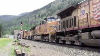[HD] Mountain railroading in Colorado- A day at Moffat Tunnel/ Rollins Pass [July 2012]