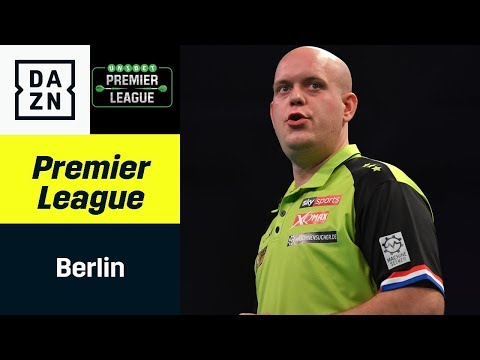 Sensation in Berlin! Max Hopp debütiert gegen Barney   Premier League of Darts   DAZN Highlights