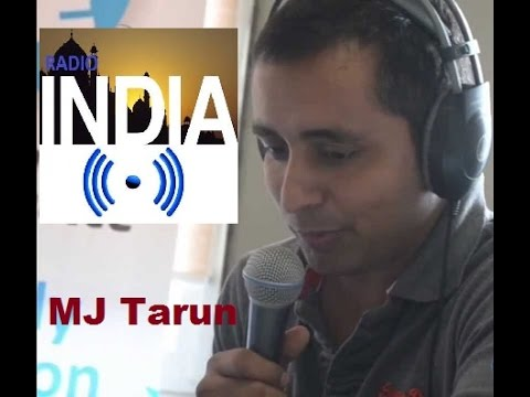 MJ Tarun-Pune- Radio India Show One Worldwide Digital Stream
