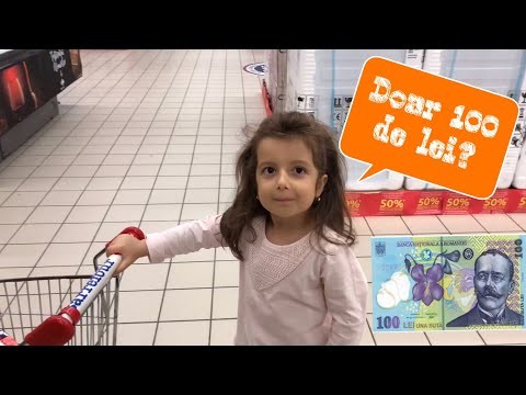 Erica si 100 lei la Carrefour