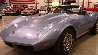 1974 Chevrolet Corvette Blue