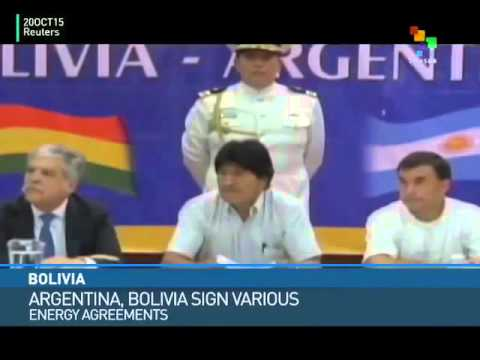 Argentina, Bolivia Sign 3 Energy Agreements