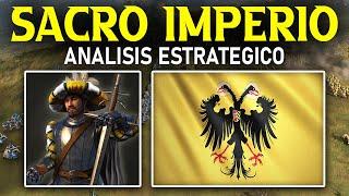 TUTORIAL del SACRO IMPERIO ROMANO | Guía AGE OF EMPIRES 4 [Unidades, tecnologías, edificios]