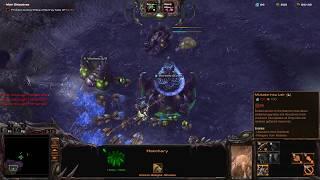 Starcraft 2 Co-op [BUG] Hatchery + Chrono = Schrödinger's Lair
