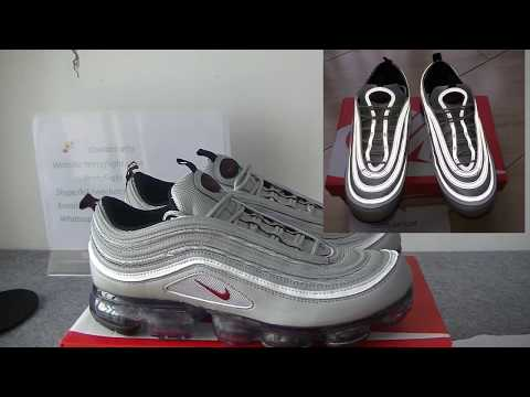 "Nike Air Vapormax 97 ""Silver Bullet"" HD Review From yeezyflight.com"