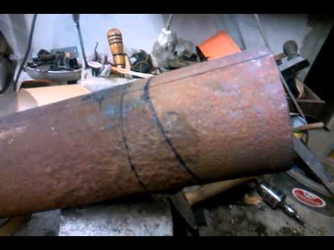 Как сделать колено из трубы