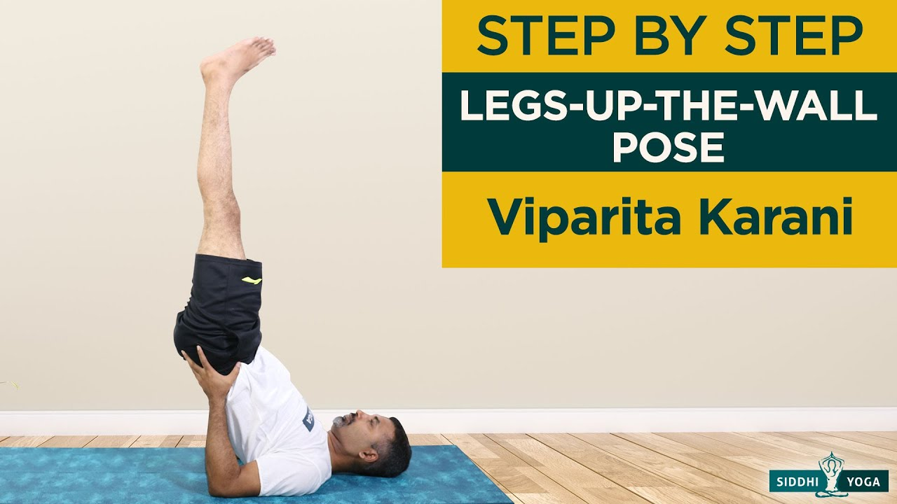 Viparita Karani For Beginners