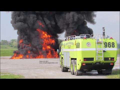Cincinnati Airport (CVG) - Live Fire Training