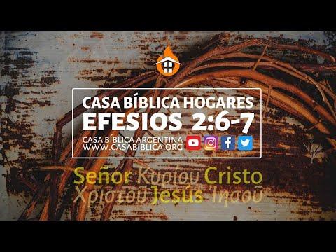🏠 CASA BÍBLICA HOGARES ⎪ Efesios 2:6-7