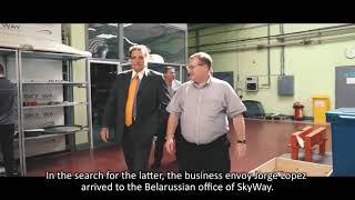 A representative of Argentinas business community visited SkyWay EcoTechnoPark