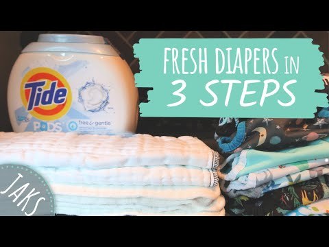 Simple Cloth Diaper Cleaning Routine |  Skill Up: Cloth Diapering | JAKS Journey [CC]