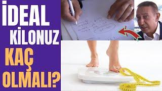 KAÇ KİLO OLMALISINIZ? İdeal Kilo Nasıl Hesaplanır? Murat Topoğlu ile İdeal Kilonuzu Buluyoruz