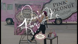 ABC's Gong Show Winner, Jessica Haas, Partners & Paints with Pink Coconut Boutique