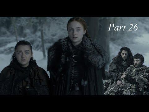 Game of Thrones season 8 Arya, Sansa and Bran Stark