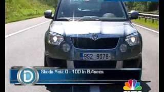 Skoda Yeti First Drive