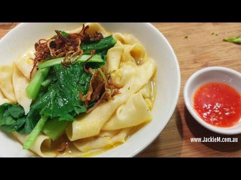 (Hangout-on-Air) How to Make Hakka Pan Mee