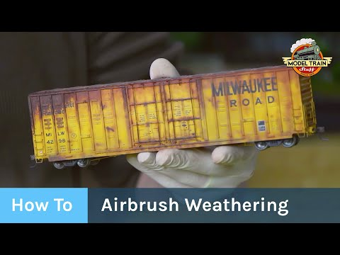 How To: Freight Car Weathering