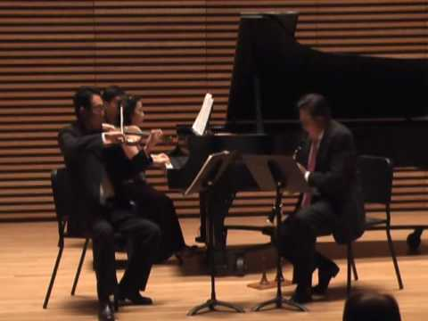 Igor Stravinsky: L'histoire du soldat (Suite), Mvt. 5, Live at University of Michigan (Trio Solari)
