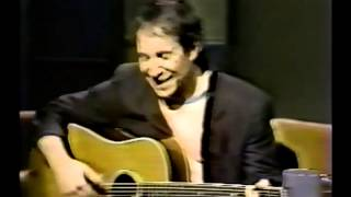 Paul Simon Performs (Partially Written) Citizen Of The Planet