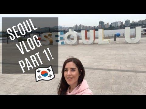 SOLO TRAVEL: SEOUL, SOUTH KOREA VLOG PART 1! [MYEONGDONG, INSADONG, GANGNAM]