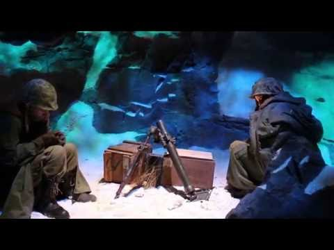 Chosin Reservoir Exhibit at National Museum of the Marine Corps