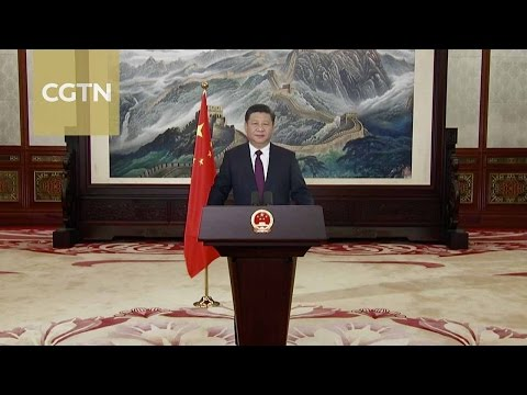 Chinese President Xi Jinping's 2017 New Year Address