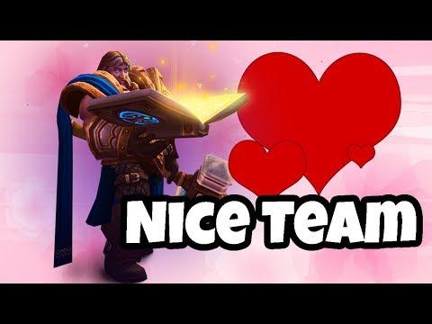 Nice Team - Compromising and Making It Work! - Heroes of the Storm Hero League w Kiyeberries