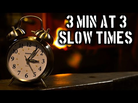 Dealing with Slow Times in Business (3 Minutes at 3)