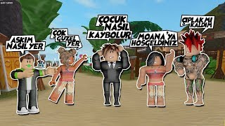 OKULUMUN 6. GÜNÜ YARI TATİL OKUL GEZİSİ / Moana Island Roleplay #1 / Roblox Türkçe