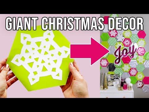 Diy Giant Cheap Christmas Decorations