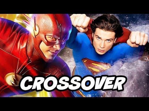 The Flash Season 5 Smallville Superman Crossover Theory - Comic Con Panel Breakdown